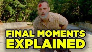 Video WALKING DEAD Rick Final Episode Explained! Details You Missed! MP3, 3GP, MP4, WEBM, AVI, FLV Agustus 2019