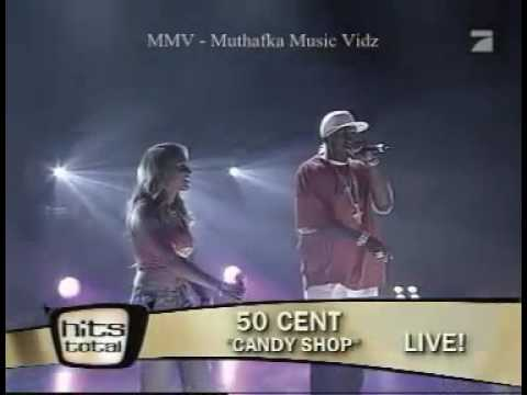 50 Cent feat. Olivia - Candy Shop Live