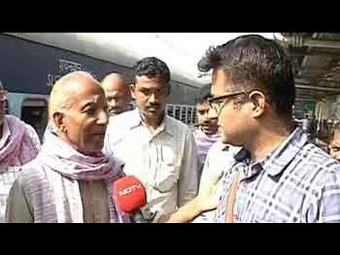 politics - It's day two on one of India's longest train journeys onboard the Dwarka Express. NDTV travels through the state that holds the key to the new government - U...