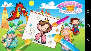 Princess Coloring Book   Coloring games for girls   Android apps for girls