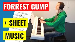 "Video Forrest Gump ""Feather Theme"" - Piano Cover"