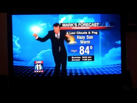 The Dancing Weather Man