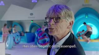 Drei neue Wasserrutschen in Hof van Saksen (Niederlande) ▻ Erlebe Freizeitparks: http://www.parkerlebnis.de Der Ferienpark...