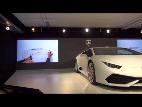 Filippo Perini - 2015 Lamborghini Huracán LP 610-4 Exterior Design by Filippo Perini.