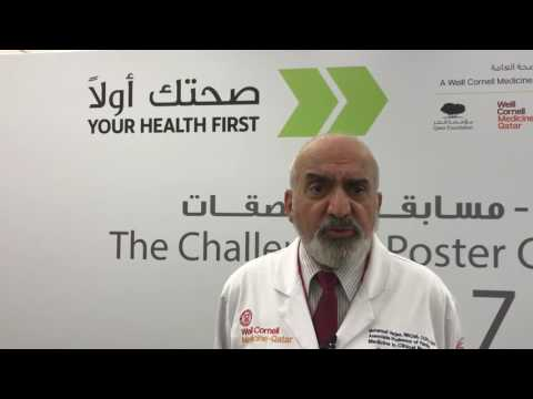 Dr. Mohamud Verjee (The Challenge Poster Competition)