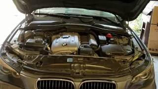 How to Change Oil on the BMW E60 N52 Engine. (or other n52 engine)Should be similar for the following cars:- E60 / E61 523i 2005-2007 (except North America)- E60 / E61 525i, 525xi 2005-2010- E60 / E61 528i, 528xi 2008-2011 (North America only)- E60 / E61 530i, 530xi 2005-2009- E63 / E64 630i 2004-2010- E70 X5 3.0si, xDrive30i 2006-2010- E82 / E88 125i coupe and cabriolet 2008-2011- E82 / E88 128i coupe and cabriolet 2008-2011 (North America only)- E83 X3 2.5si, xDrive25i 2005-2010 (except North America)- E83 X3 3.0i 2006–2010- E84 X1 xDrive25i 2009-2010- E84 X1 xDrive28i 2009-2011 - E85 Z4 2.5si 2005-2008- E85 Z4 2.5i 2006-2008- E85 Z4 3.0i 2005-2008 BMW (North America only)- E85 / E86 Z4 3.0si 2005-2008- E87 130i hatchback 2006-2009- E87 130i 2009-2012- E89 Z4 sDrive23i 2009-2011 (except North America)- E89 Z4 sDrive30i 2008-2011- E90 323i 2005-2008- E90 / E92 / E93 325i, 325xi 2004-2007 (North America only)- E90 / E91 / E92 / E93 325i, 325xi 2005-2011 (except North America)- E90 / E92 / E93 328i 2006-2011 (North America only)- E90 / E92 / E93 330i, 330Ci, 330xi 2004-2008- F01 / F02 730i, 730Li 2005-2015- F10 523i sedan 2009-2011 (except North America)- F10 528i Sedan 2010-2011 (North America only)Engine oil is the essential lubricant that maintains low friction among engine moving parts and additionally cools the engine. It is important to understand the role of oil viscosity in engine longevity.For most of North America the climate is such that BMW's synthetic 5W-40 is adequate nearly year round. However, for certain climate regions (extremely hot or extremely cold) or for sustained high-speed driving towing a trailer (for example) it may be necessary to consider oil with a more specialized viscosity range. Consult your owner's manual for the multiviscosity oil suited to your climate and vehicle use.In this video, I'll go over the steps involved with replacing the engine oil and filter on the BMW E60 models. Be sure to work with a cool engine and have a drain pan