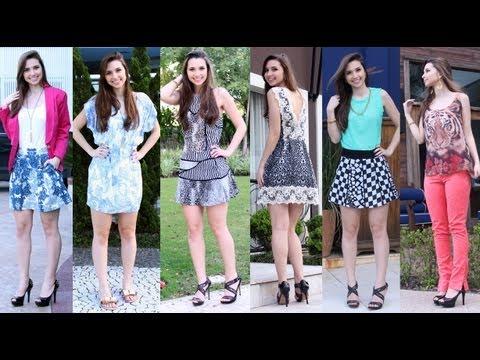 Moda - Looks Verão 2014