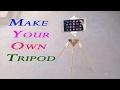 How to Make tripod for Mobile camera, DSLR, Handicam, flash light etc. Full Hindi tutorial