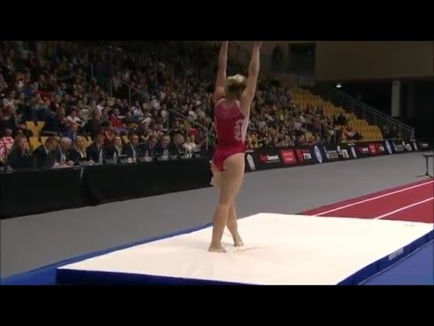 Tumbling World Championships Womens Final 2015