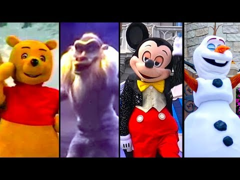 Evolution of Talking Disney Characters | Articulated Disney Characters