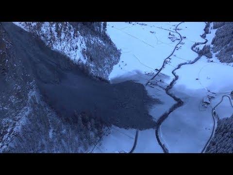 Österreich: Massiver Felssturz in Tirol – Dorfbewoh ...
