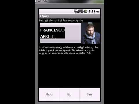 Video of Aforismi di Francesco Aprile