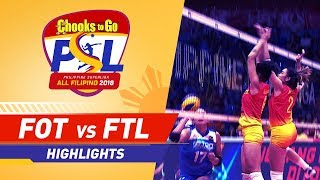Highlights: Foton vs. F2 Logistics | PSL All-Filipino Conference 2018