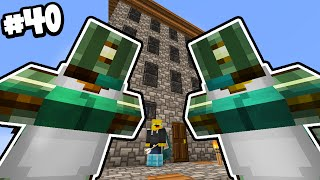 Minecraft - TIME TRAVELLERS! - UNEXPECTED VISITORS!! #40 W/AshDubh!