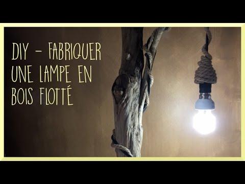 [diy] Fabriquer une lampe en bois flotté - Souraya
