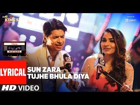 Download Sun Zara /Tujhe Bhula Diya Lyrical Video | T-Series Mixtape | Shaan | Shruti Pathak | Bhushan Kumar HD Mp4 3GP Video and MP3
