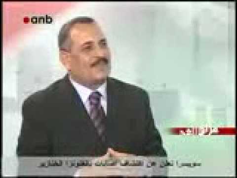 لقاء قناة anb مع ممثل البعث في العراق