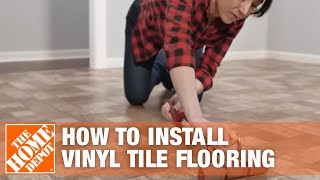 How to Install Peel-and-Stick Vinyl Tile Flooring | The Home Depot