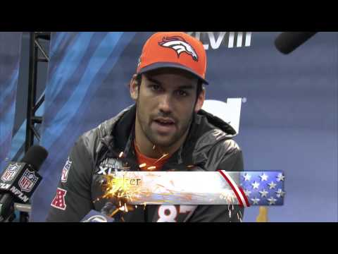 Eric Decker – Shout Out for the Troops