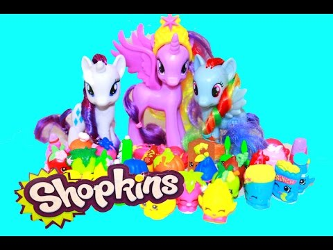 Little - AllToyCollector Shopkins 5 Pack Opening with MLP My Little Pony Princess Twilight Sparkle, Rarity, & Rainbow Dash. The Special Edition Shopkins get to go down Princess Twilight Sparkle Rainbow...