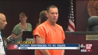 Lawrence Dickey sentenced to 40 years in prison for killing his wife