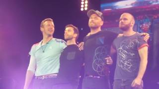 Coldplay LIVE Leipzig - The end of the show - June 14th 2017.