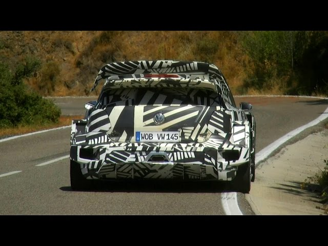 Test Jari-Matti Latvala | Volkswagen Polo WRC 2017 on Tarmac by Jaume Soler