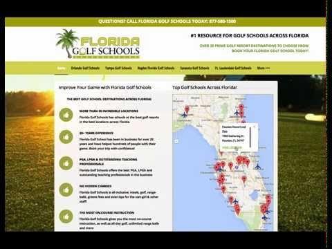 How Easy is it to Book a Florida Golf School?