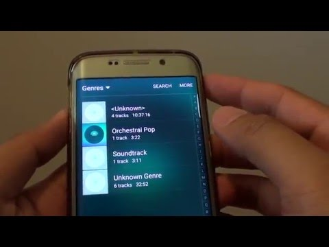 Samsung Galaxy S6 Edge: How to Change Music Cover Image