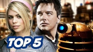 TOP 5 Doctor Who Stories Of All Time - Countdown To 50th Anniversary