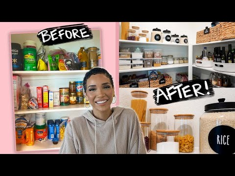 Extreme Pantry Makeover 2021 for a New Home!