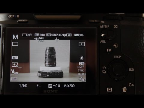How to set up your Sony a7s II for filmmaking