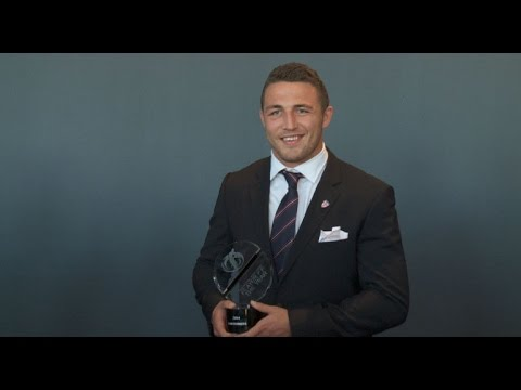 England Player Of The Year - WATCH Sam Burgess pick up his International Player of the Year award in Brisbane and hear from Slammin' Sam himself.
