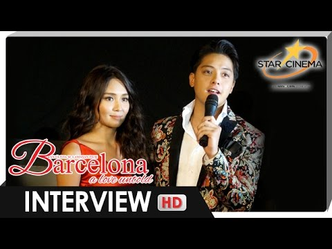 Kathryn & Daniel grateful for the successful premiere night of 'Barcelona'