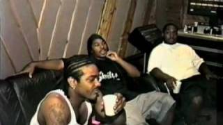 Cam'ron Interview/Rapping with Jim Jones, Freekey Zekey VINTAGE FOOTAGE, Pre- S.D.E.