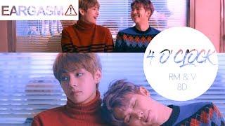 Video BTS V & Rap Monster - 4 O'Clock (네시) [8D USE HEADPHONE] 🎧 MP3, 3GP, MP4, WEBM, AVI, FLV Juli 2018
