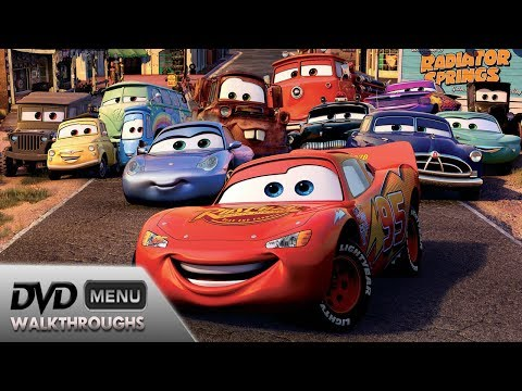 Cars (2006) DvD Menu Walkthrough