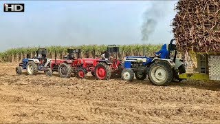 744 Braekan fail Group || stuk fullY lorded GANNE di trali || swaraj 744,farmtrac 45,Massey 241,275