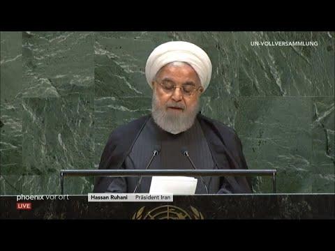 Rede von Präsident Hassan Ruhani (Iran) vor der UN-Vo ...