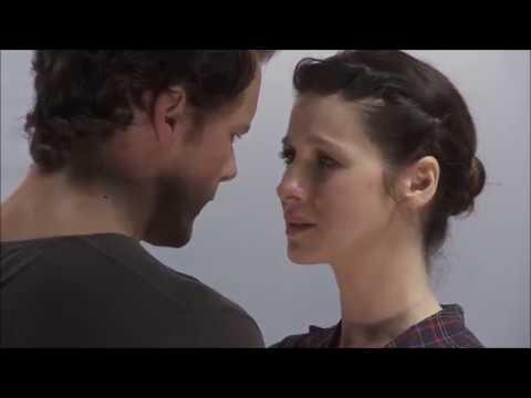 Outlander - Original Chemistry Test: Sam Heughan (Jamie Fraser) & Caitriona Balife (Claire)