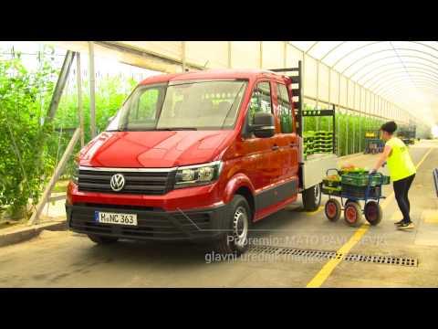 Gospodarska vozila: Volkswagen Crafter i Man TGE