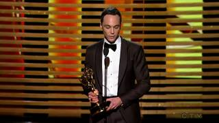 """Jim Parsons wins an Emmy for """"The Big Bang Theory"""" 2014"""