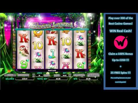 Unicorn Legend Slots at Wicked Jackpots– Claim a £350 Welcome Offer