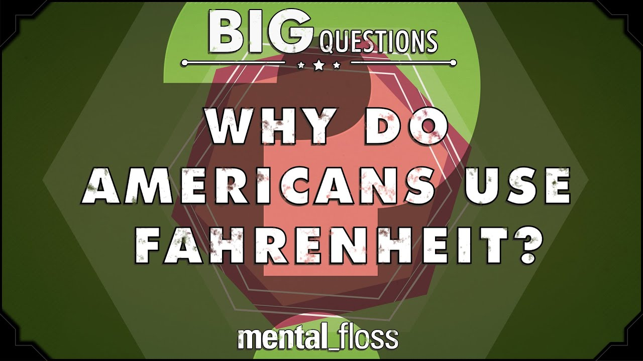 Why do Americans use Fahrenheit?  – Big Questions – (Ep. 37)