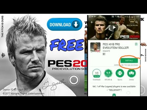 How To Download PES 2019/2018 For Android Free From Play Store