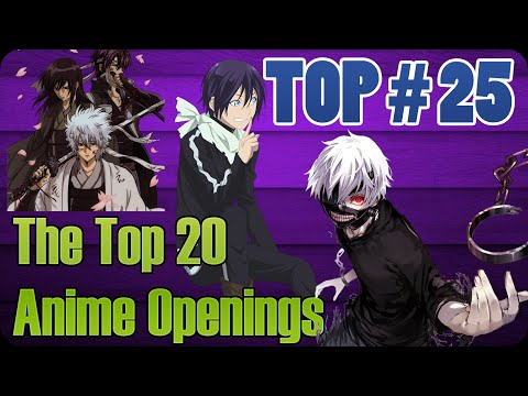 THE TOP 20 ANIME OPENINGS | 24 DE OCTUBRE 2014 | TOP # 25
