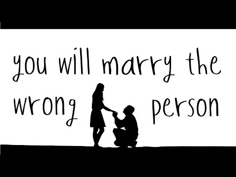 Tom Rosenthal - You Will Marry The Wrong Person (Lyrics)