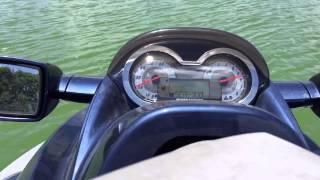 7. 2004 seadoo Gtx 185 hp top speed run.