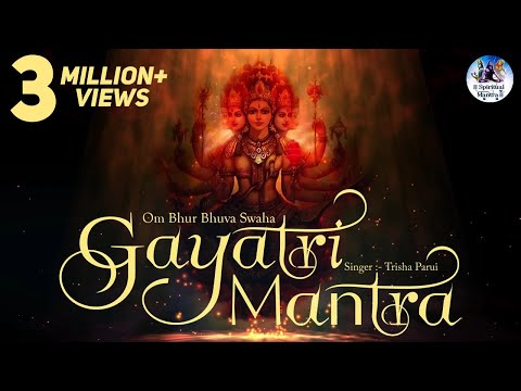 POPULAR GAYATRI MANTRA 108 TIMES - OM BHUR BHUVA SWAHA LYRICS | VERY BEAUTIFUL SONG ( FULL SONG ) Mp3