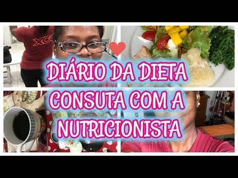 DIARIO DA DIETA VISITA A NUTRICIONISTA